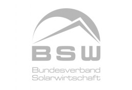 Logo German Solar Industry Association in grey