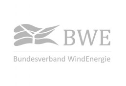 Logo Bundesverband Windenergie in grau