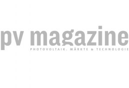 Logo photovoltaics Magazine grey