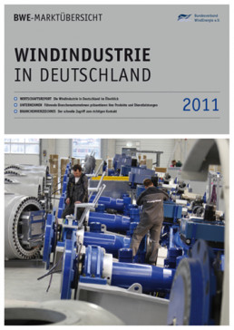 Cover Windindustrie in Deutschland 2011