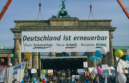 Deutschland ist erneuerbar Demo in Berlin