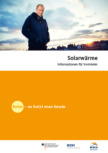 Cover Solarwärme Information für Vermieter