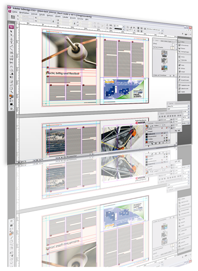 screenshot InDesign-Dokument