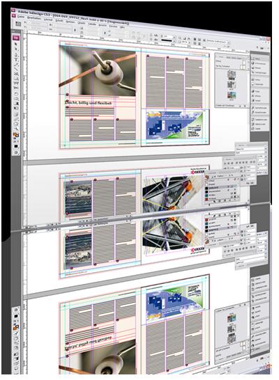 screenshot InDesign-Dokument