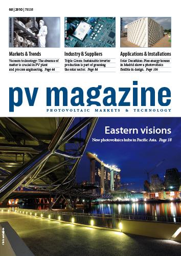 Cover pv magazine 08-2010