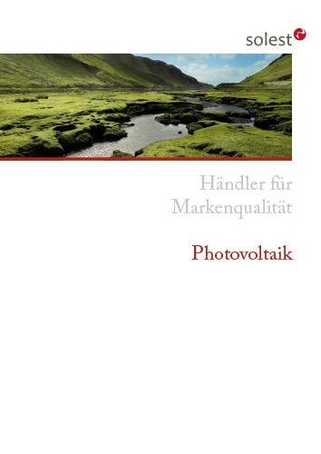 Cover Sollst Photovoltaik