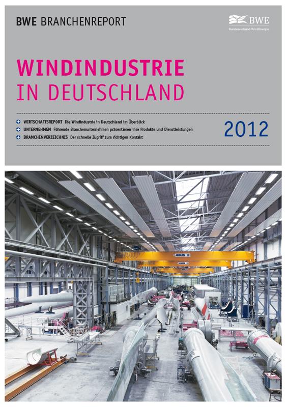 Windindustrie in Deutschland Broschüre deutsch 2012