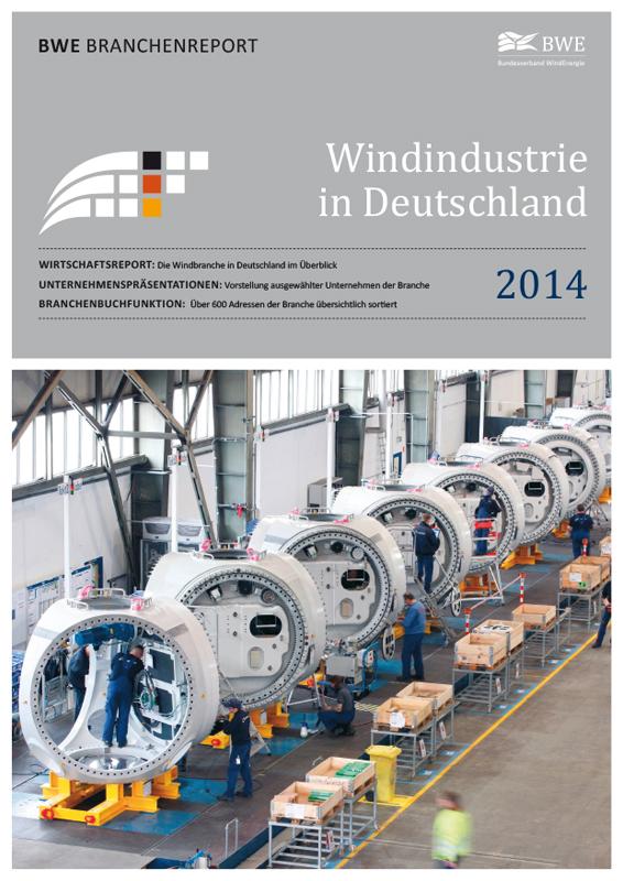Windindustrie in Deutschland Broschüre deutsch 2014