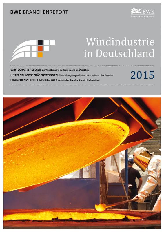 Windindustrie in Deutschland Broschüre deutsch 2015