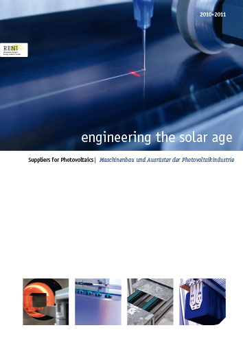Cover engineering the solar age 2010-2011