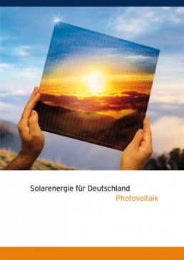 Cover Solarenergie in Deutschland Photovoltaik