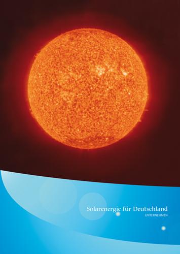 Cover Solarenergie für Deutschland Daten