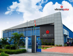 Vikram Solar Manufacturing Facility in India