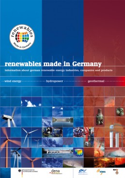 Cover Renewables Made in Germany 2005 Wind