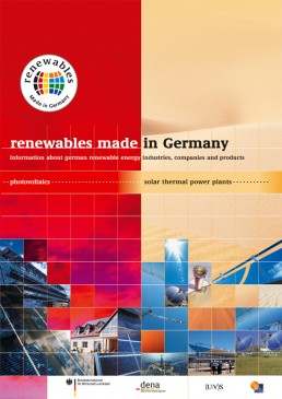 Cover Renewables Made in Germany 2005 Solar