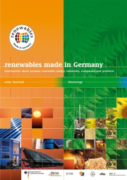 Cover Renewables Made in Germany 2005 Bio