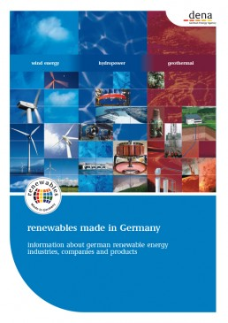 Cover Renewables Made in Germany 2008 Wind