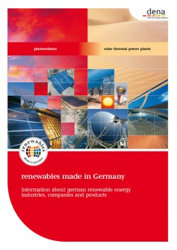 Cover Renewables Made in Germany 2008 PV