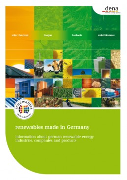 Cover Renewables Made in Germany 2008 Bio