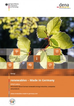 Cover Renewables Made in Germany 2010