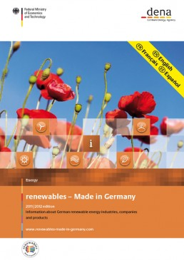 Cover Renewables Made in Germany 2011
