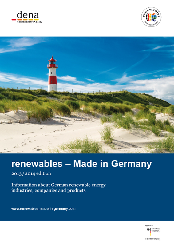 Cover Renewables Made in Germany 2013 Englisch