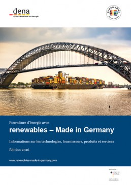 Cover Renewables Made in Germany 2015 French