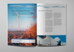 Double page Vestas 1 Wind Industry in Germany Edition 2005