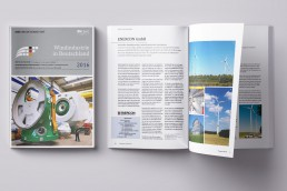 Windindustrie in Deutschland Broschüre 2016