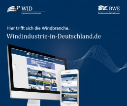 Banner Wind Industry in Germany