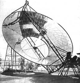 Solarthermisches Kraftwerk in Los Angeles (ca. 1901)