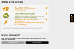 Energis-PV-Auslegungstool Screenshot 2