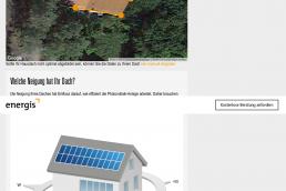 Energis-PV-Auslegungstool Screenshot 4