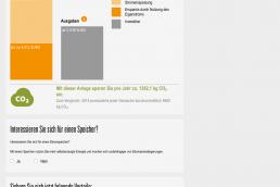 Energis-PV-Auslegungstool Screenshot 5