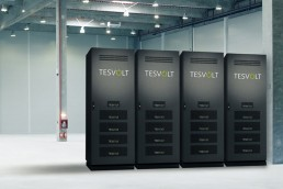 Tesvolt lithium storage TS: The all-rounder for commercial use