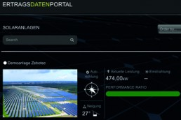 PV yield data portal from Sunbeam Communications