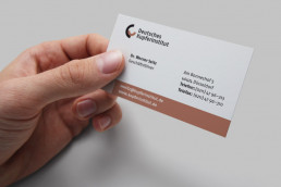 German Copper institute, Buisness card