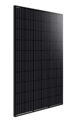 Volledig zwart zonnepaneel