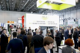 Publikum auf der Messe Energy Storage Europe Düsseldorf