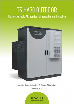 Data sheet Tesvolt TS HV Outdoor