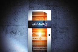 Batteriesystem mit Logo von Ecocoach