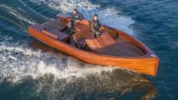 Vollelektrische Yacht E-Commuter mit ecovolta-Traktionsbatterie