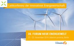 Ankündigung des FORUM Neue Energiewelt