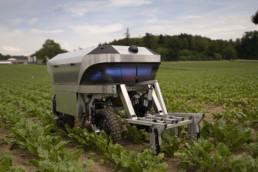 Agrarrobotter im Feld