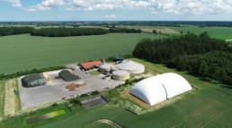 Speicherkraftwerk Oebelitz aus der Luft fotografiert