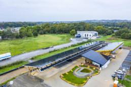 Europas größter Ladepark bei Hilden mit Batteriespeichern von Tesvolt,