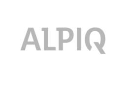 Logo Alpiq in grau
