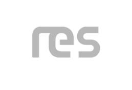 Logo RES in grau