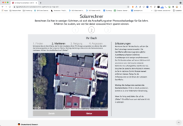 Screenshot Solarrechner 3