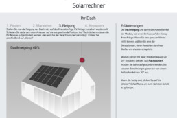 Screenshot Solarrechner